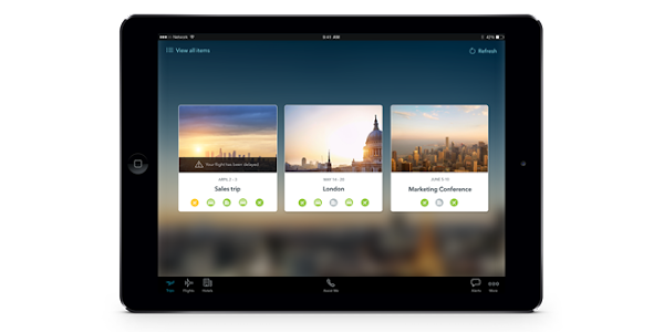 Egencia TripNavigator for iPad