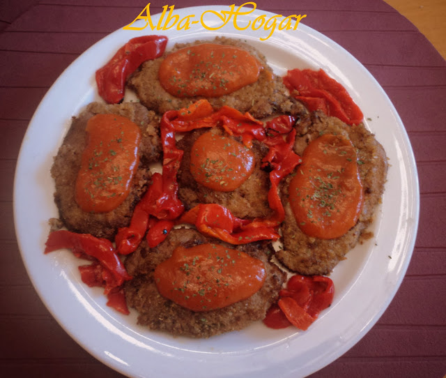 escalopines curry y tomate alba hogar