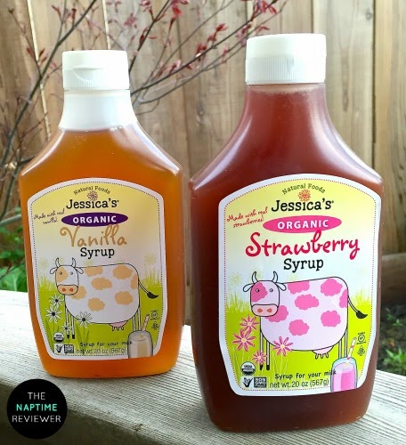 Jessica S Natural Foods Organic Strawberry Syrup Oz