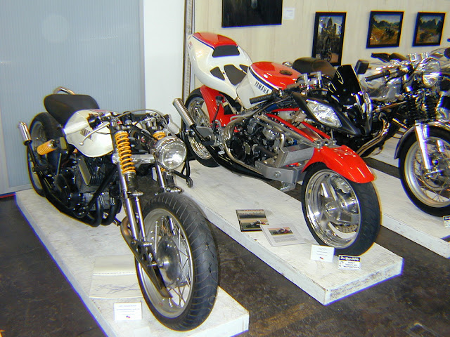 Farnam FFE350 Dirtbag Forkless RD400 One Motorcycle Show