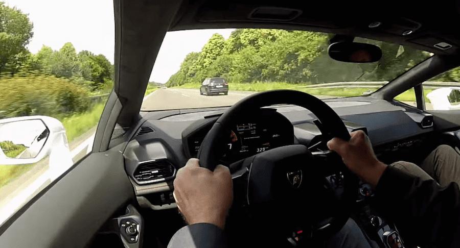 【動画】「ランボルギーニ・ウラカン」で到達する時速329キロの世界