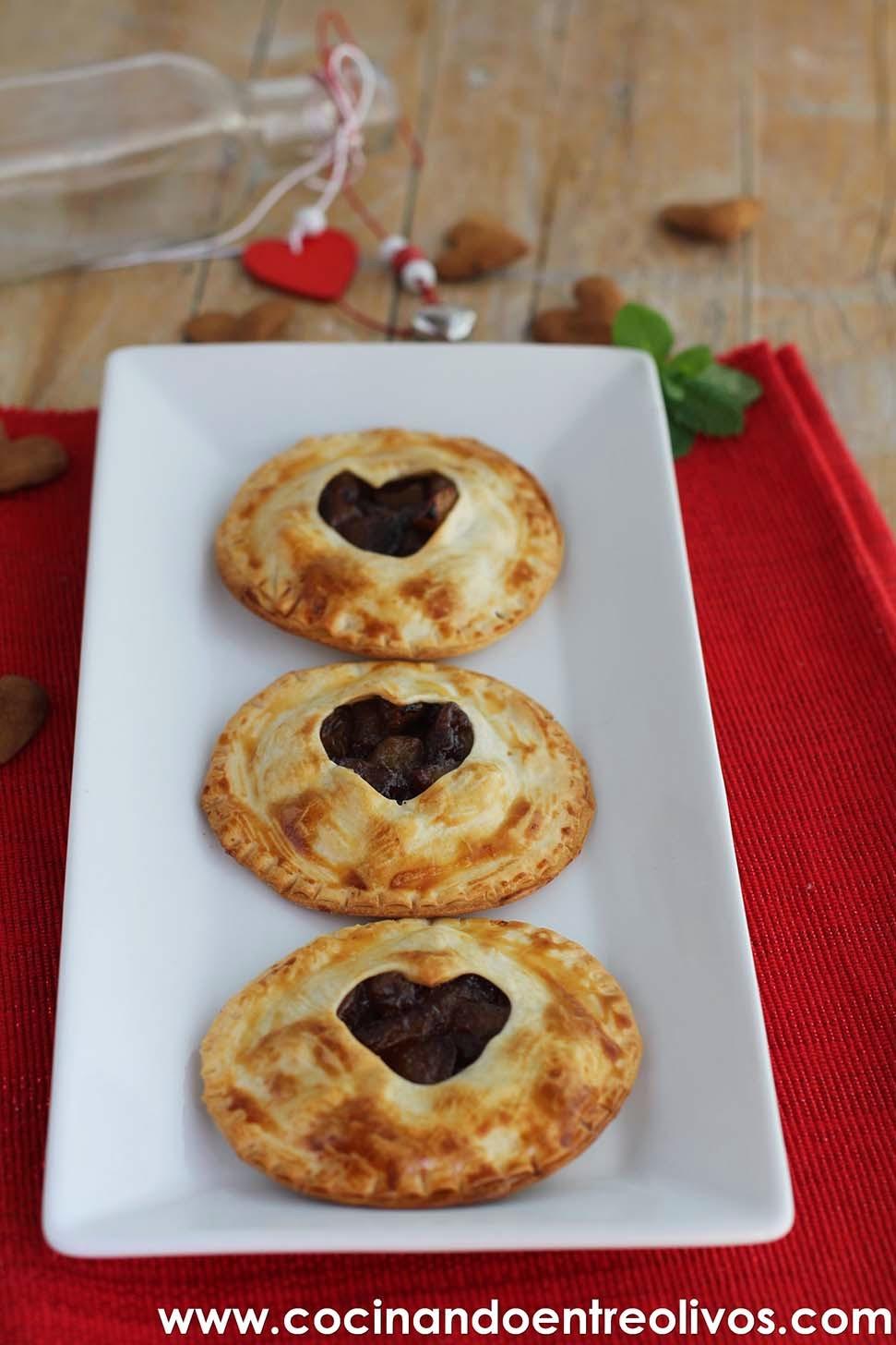 Cocinando entre olivos empanadillas de manzana receta for Cocinando entre olivos