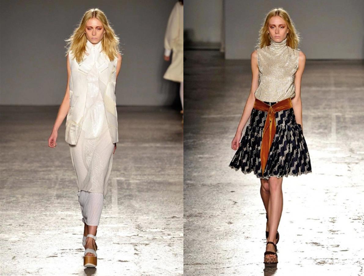 Eniwhere Fashion - Alberto Zambelli sfilata - Milano Moda Donna