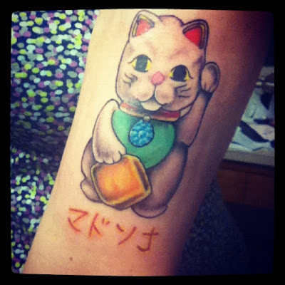 Maneki Neko Tattoo