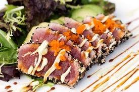 Bonefish Grill Recipes Bonefish Grill Tuna Sashimi And Seared Ahi Tuna Loin