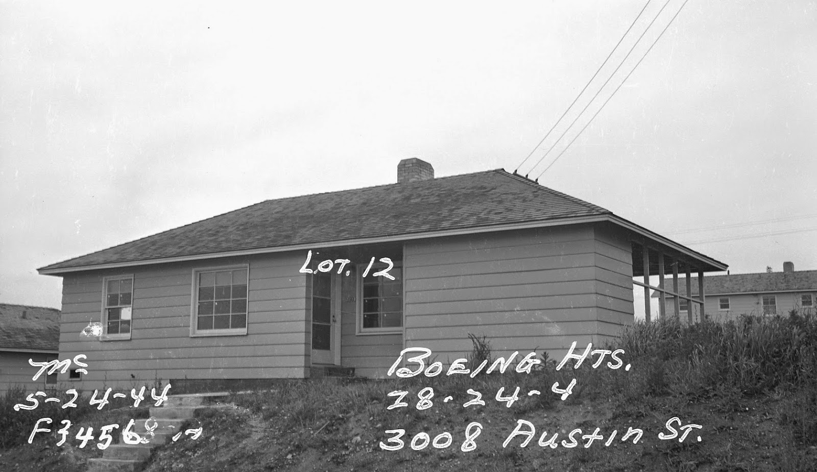 South Seattle House Puget Sound Regional Archives