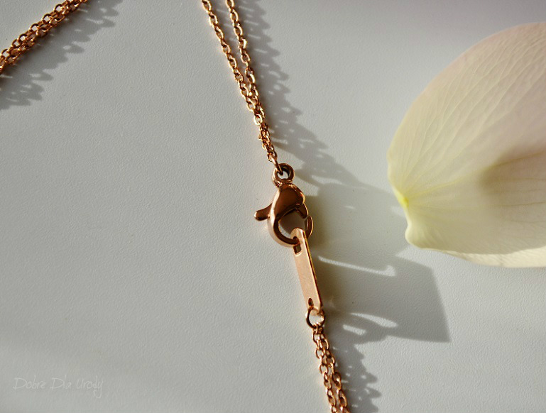 Happiness Boutique Layered Necklace In Rose Gold