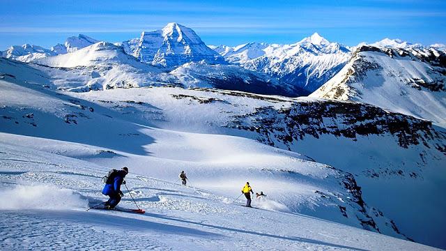 Heli Ski, Canada
