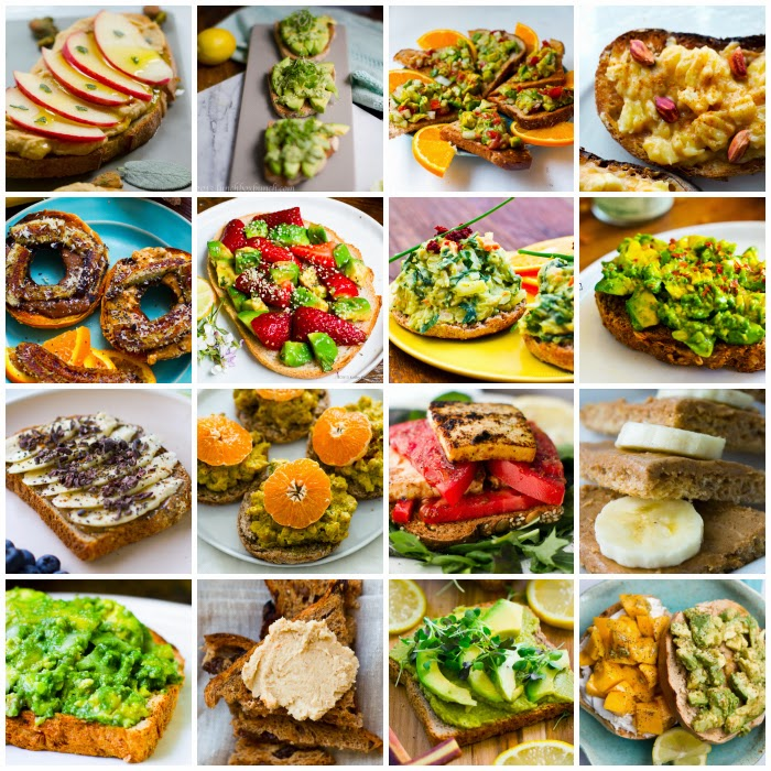 vegan toast recipes