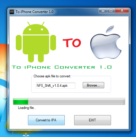 apk to ipa games and apps converter download