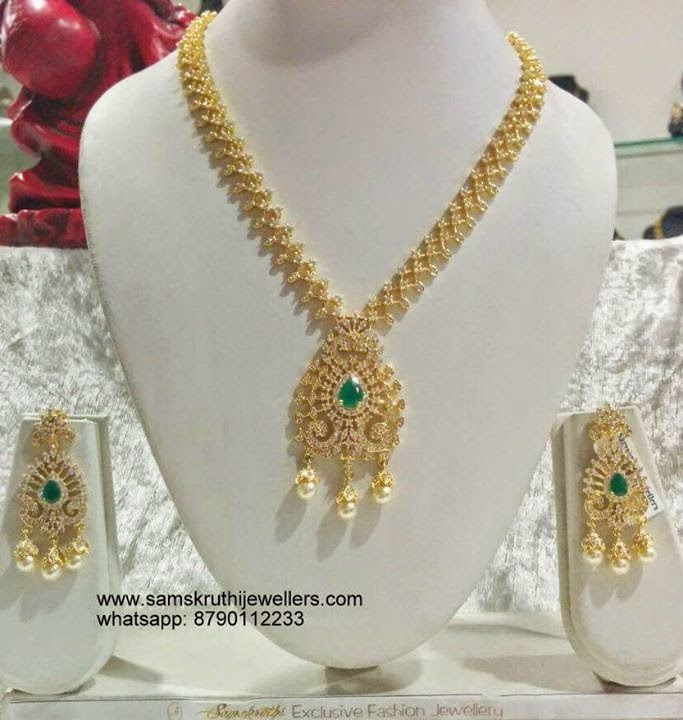 Indian Jewellery And Clothing: Indian Jewellery And Clothing: Beautiful Gold Coated