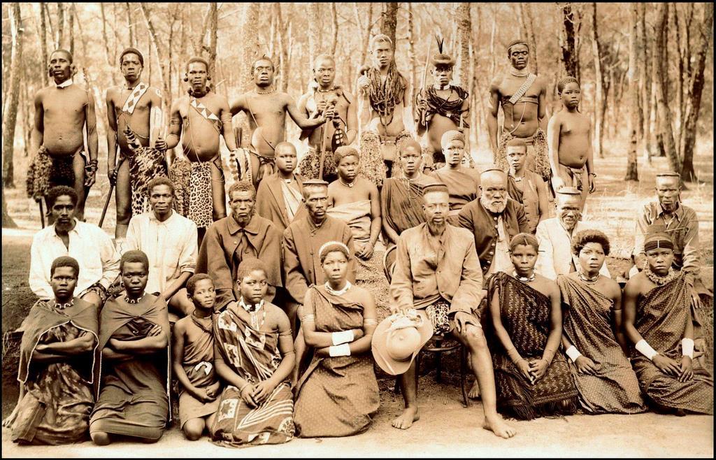 Zulu Land Old Africa In 1903 Vintage Everyday