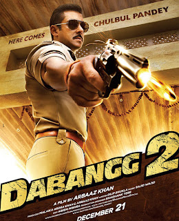 Salman Khan in Dabang 2 wallpaper