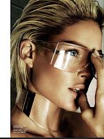 Doutzen Kroes portrait with glasses