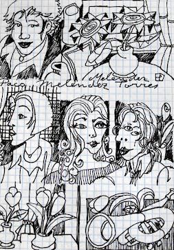 Caras de mujer.