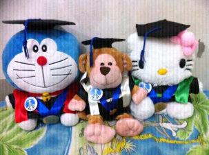 Jual Boneka Wisuda Doraemon
