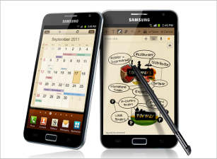 Samsung Galaxy Note to come in November in India  samsung mobile phones gadgets