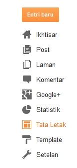 Cara Membuat Scroll Pada Daftar Link Blog