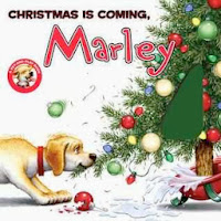 bookcover of CHRISTMAS IS COMING, MARLEY (Board Book)  by John Grogan