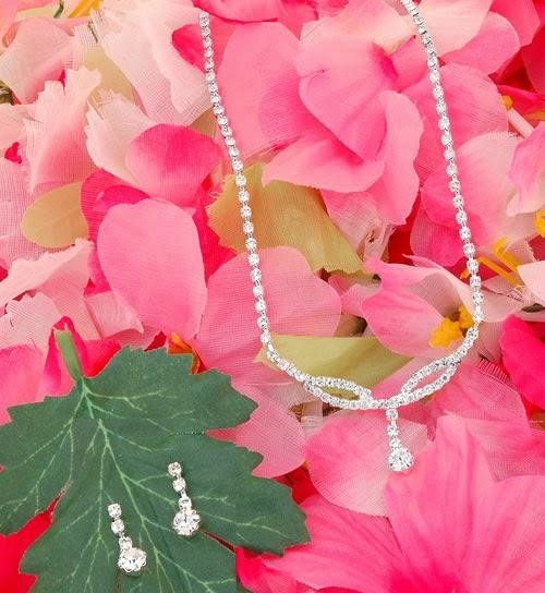 Bridesmaid jewelry chunky