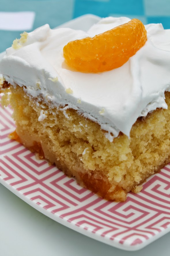 Orange Cake | WhatchaMakinNow.com