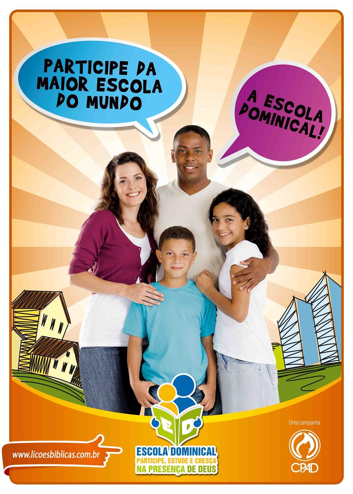 Participe da EBD!