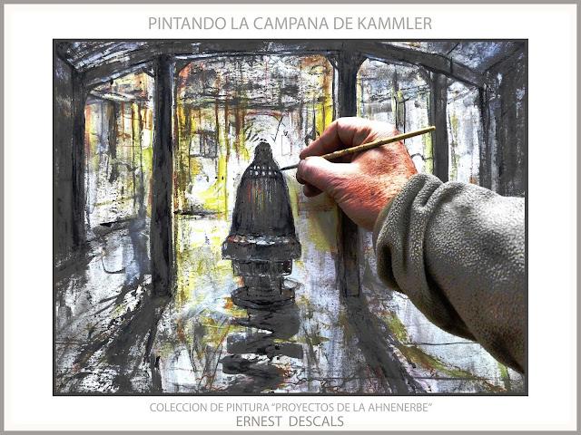 CAMPANA-DIE GLOCKE-ART-ARTE-AHNENERBE-SS-KAMMLER-PROYECTOS-CIENCIA-PINTURA-ARTE-ALEMANIA-HISTORIA-SEGUNDA GUERRA MUNDIAL-PINTOR-ERNEST DESCALS-