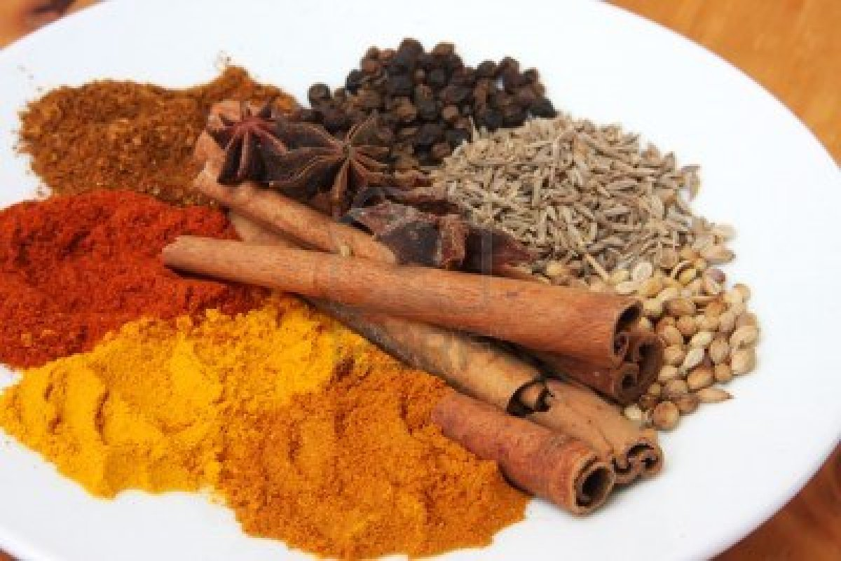 herbs and spices Sure, coriander, cinnamon, and paprika are all spices, just as thyme, rosemary, and mint are all herbs.