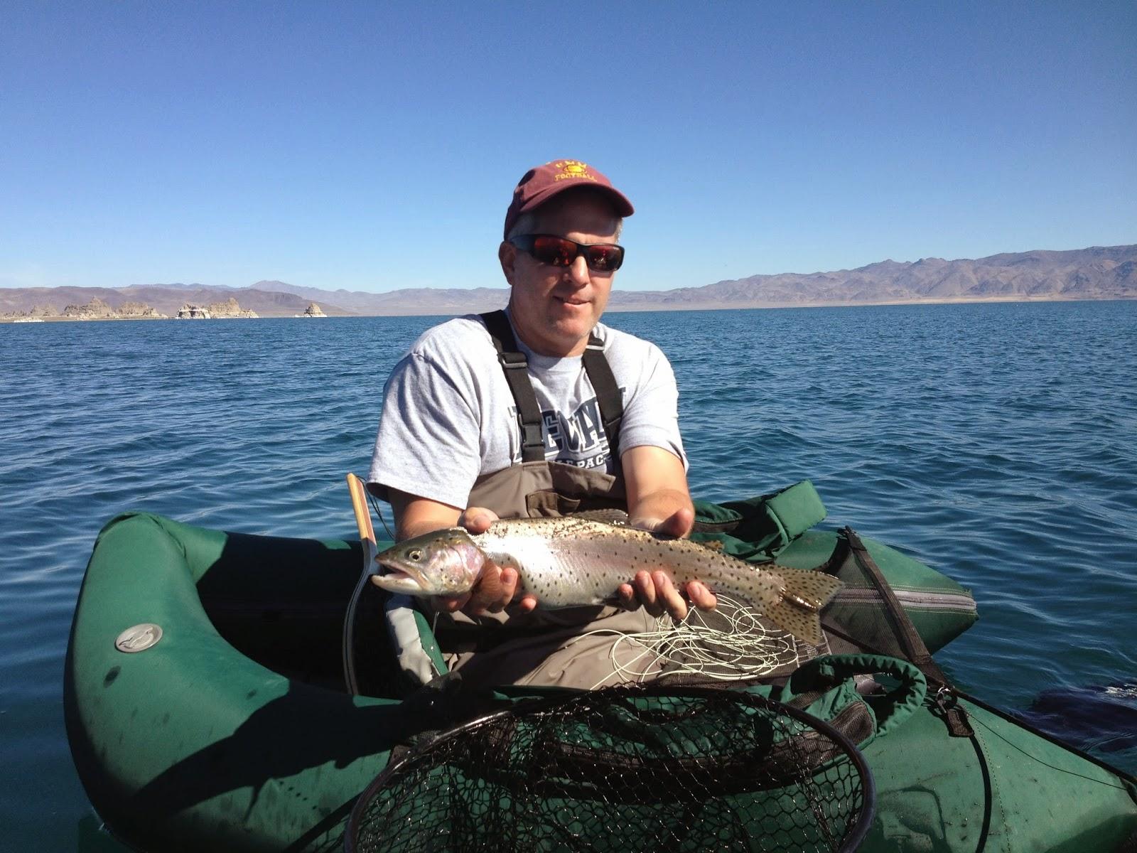 Northern sierra fly fishing pyramid lake 10 14 14 for Sierra fly fishing