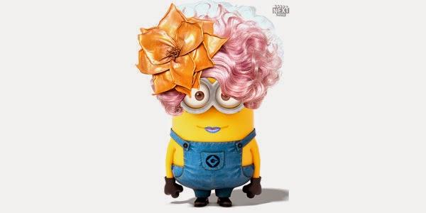 Minion Effie Trinket de Jogos Vorazes