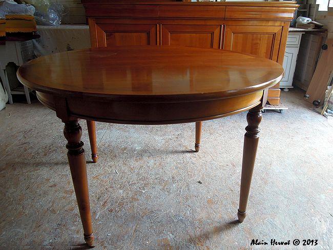 ambiances bois patines une table de s jour peinture. Black Bedroom Furniture Sets. Home Design Ideas