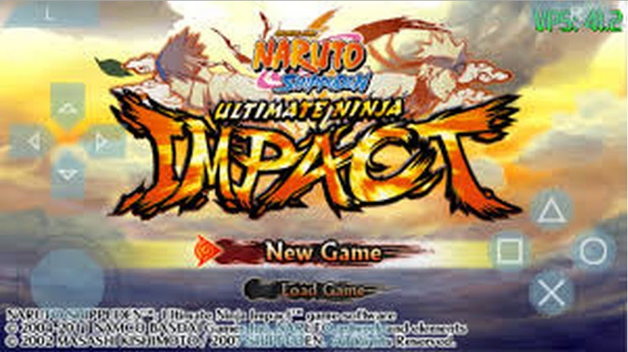 download game PSP Naruto Ultimate ninja impact CSO Konvert
