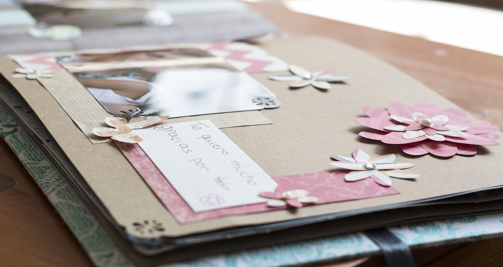 Como decorar las paginas de un album imagui - Decoracion de album de fotos ...