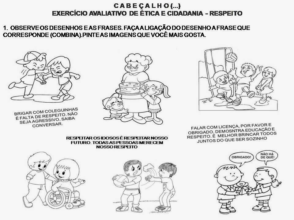 Fabuloso É Coisa de Escola: FILOSOFIA NO ENSINO FUNDAMENTAL: Tema RESPEITO JC29