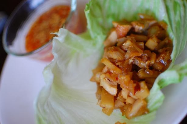 P. F. Chang's Chicken Lettuce Wraps!