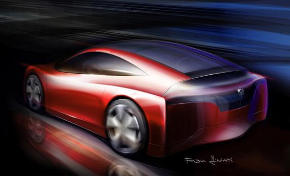 AMAZING HONDA SPORT CAR WALLPAPERS