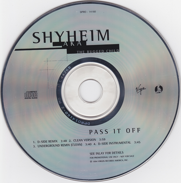 Shyheim – Pass It Off (CDS) (1994) (192 kbps)