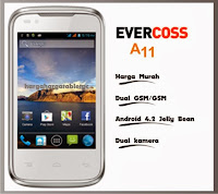 Harga HP Evercoss A11