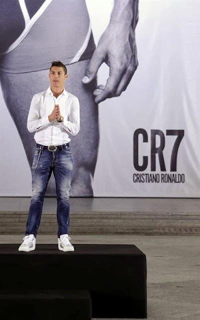 Nosolometro cristiano ronaldo presenta su l nea de ropa interior en madrid - Ropa interior real madrid ...