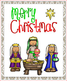 Nativity Christmas Cards - to print