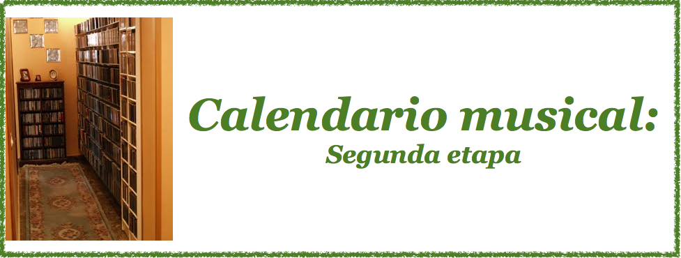 Calendario musical