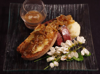 recette acacia magret canard