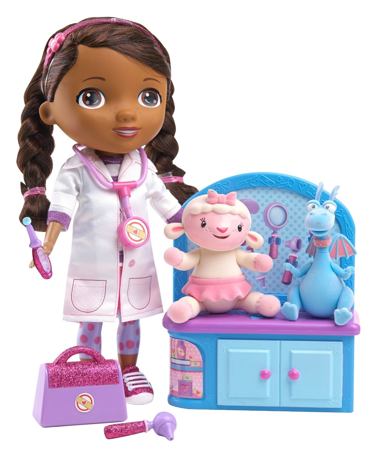 Girl Toys Doll : Just play toys the doc mcstuffins magic talkin