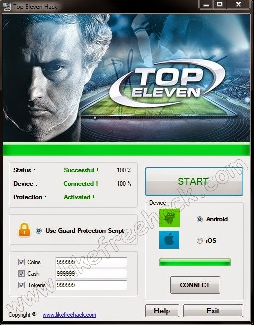 http://freesoftwarehacks.blogspot.ro/2013/01/top-eleven-football-manager-hack-tokens.html