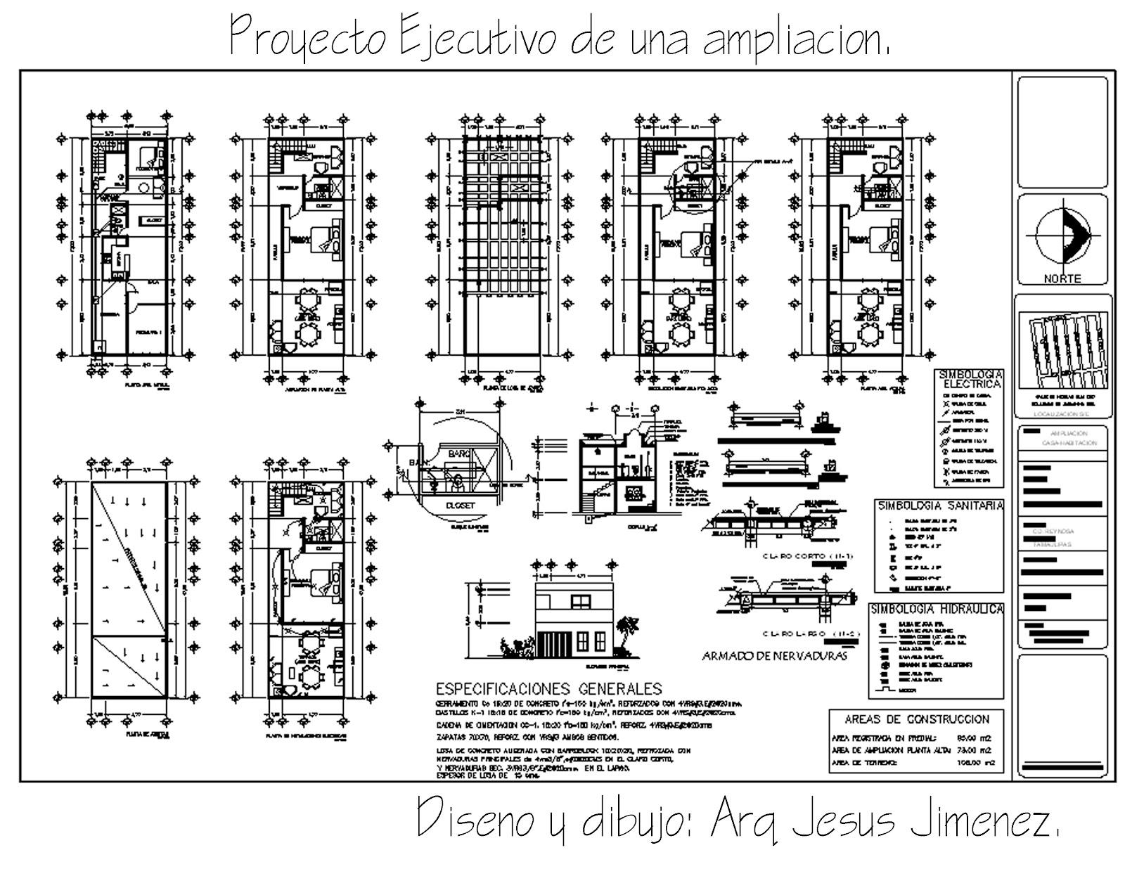 Decor arq septiembre 2012 for Proyecto arquitectonico pdf