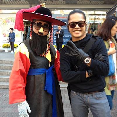 Gambar Hafiz AF Di Seoul Korea Bersama Teman Wanita?