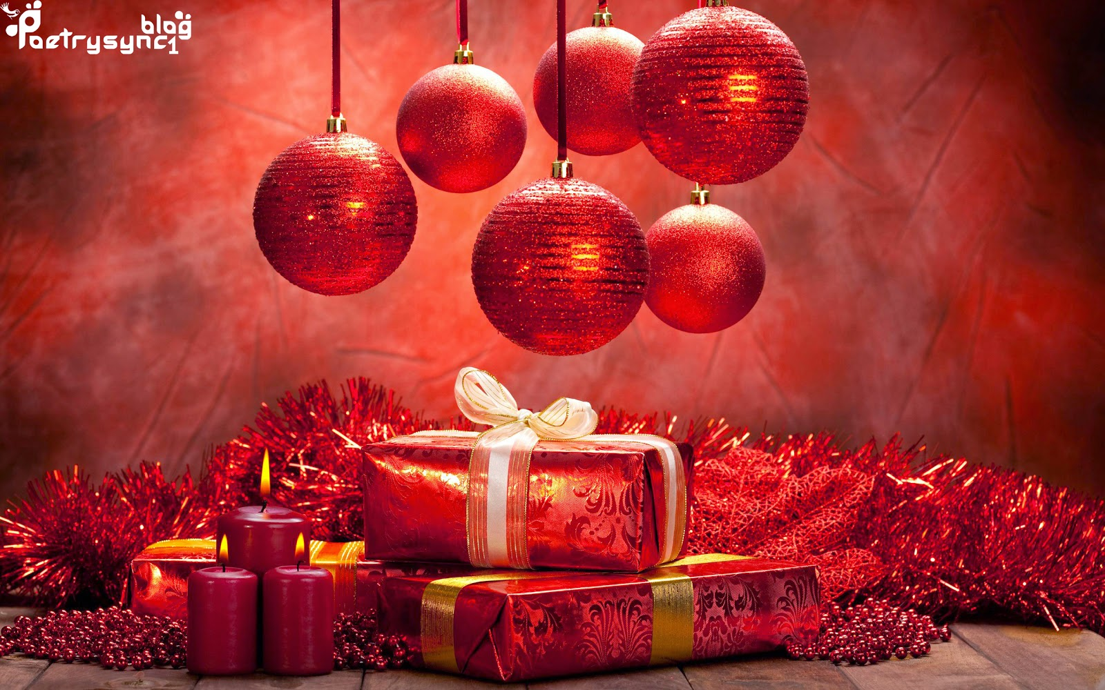 Merry Christmas Wishes Wallpapers Balls Gifts Candles With Best 25