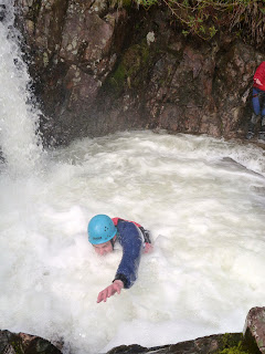 Ghyll Scrambling Sessions in The Lake District. Kendal Mountaineering Services.