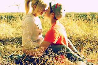 Romantic Couples in love boy girl in love kissing