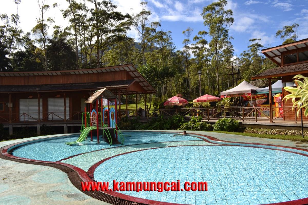 Kampung Cai Rancaupas Kolam